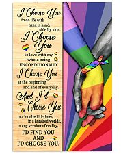 LGBT - I Choose You Poster 11x17 Poster front