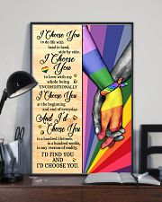 LGBT - I Choose You Poster 11x17 Poster lifestyle-poster-2