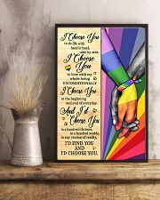 LGBT - I Choose You Poster 11x17 Poster lifestyle-poster-3