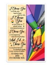 LGBT - I Choose You Poster Sticker - Single (Vertical) thumbnail