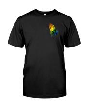 Lgbt Through Christ 2 Sides Classic T-Shirt front