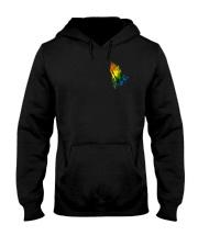 Lgbt Through Christ 2 Sides Hooded Sweatshirt tile
