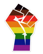 LGBT - Strong Sticker - Single (Vertical) front