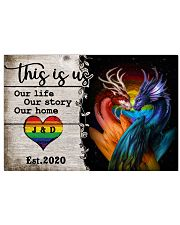 LGBT - Dragon This is Us Poster 17x11 Poster front