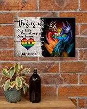 LGBT - Dragon This is Us Poster 17x11 Poster poster-landscape-17x11-lifestyle-23