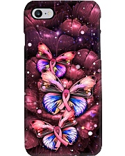 Breast Cancer Butterfly Ribbon Phonecase Phone Case i-phone-7-case
