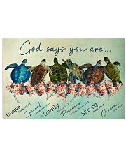 Turtle God Say You Are 17x11 Poster front