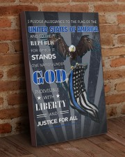 Back The Blue Eagle Canvas  20x30 Gallery Wrapped Canvas Prints aos-canvas-pgw-20x30-lifestyle-front-09