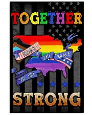 LGBT - Home Of The Brave Flag 11x17 Poster thumbnail