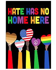 LGBT - Hate - No Home Poster Custom 11x17 Poster thumbnail