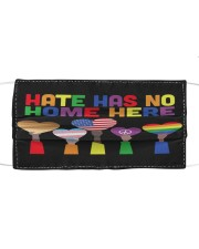 LGBT - Hate - No Home Poster Custom Cloth face mask thumbnail