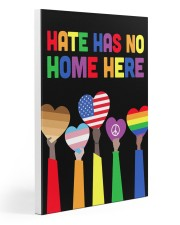 LGBT - Hate - No Home Poster Custom 20x30 Gallery Wrapped Canvas Prints thumbnail