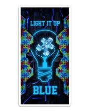 Autism Light It Up Phone Case Sticker - Single (Vertical) thumbnail