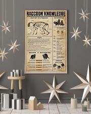Raccoon Knowledge 11x17 Poster lifestyle-holiday-poster-1