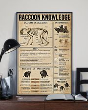 Raccoon Knowledge 11x17 Poster lifestyle-poster-2