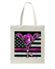 Breast Cancer Roses Tote Bag tile