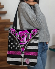 Breast Cancer Roses All-over Tote aos-all-over-tote-lifestyle-front-09