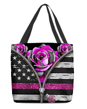 Breast Cancer Roses All-over Tote front