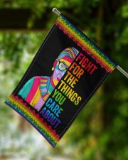 "LGBT Fight For The Things You Care Flag 11.5""x17.5"" Garden Flag aos-garden-flag-11-5-x-17-5-lifestyle-front-15"