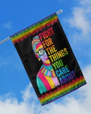 "LGBT Fight For The Things You Care Flag 11.5""x17.5"" Garden Flag aos-garden-flag-11-5-x-17-5-lifestyle-front-16"