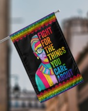 "LGBT Fight For The Things You Care Flag 11.5""x17.5"" Garden Flag aos-garden-flag-11-5-x-17-5-lifestyle-front-17"