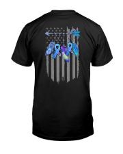 Diabetes - Diabetes Warrior 2 Sides Classic T-Shirt back
