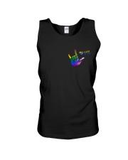 LGBT Love 2 Sides Unisex Tank tile