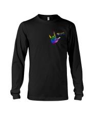 LGBT Love 2 Sides Long Sleeve Tee tile