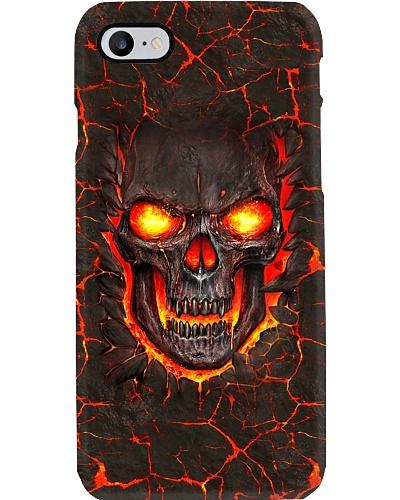 Lava Skull Phone Case
