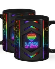 LGBT Love Is Love Neon Mug Mug ceramic-mug-lifestyle-01