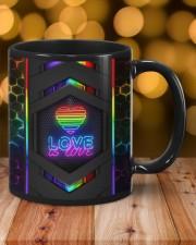 LGBT Love Is Love Neon Mug Mug ceramic-mug-lifestyle-06