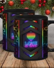 LGBT Love Is Love Neon Mug Mug ceramic-mug-lifestyle-21