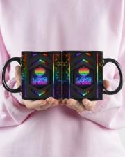 LGBT Love Is Love Neon Mug Mug ceramic-mug-lifestyle-28