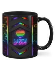 LGBT Love Is Love Neon Mug Mug front