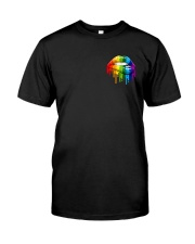 LGBT Sunflower Flag 2 Sides  Classic T-Shirt front