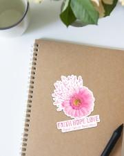 Breast Cancer Faith Hope Love St Sticker - Single (Vertical) aos-sticker-single-vertical-lifestyle-front-16