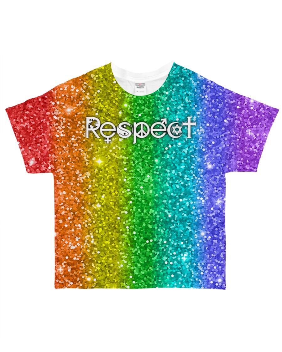 LGBT Respect All-over T-Shirt