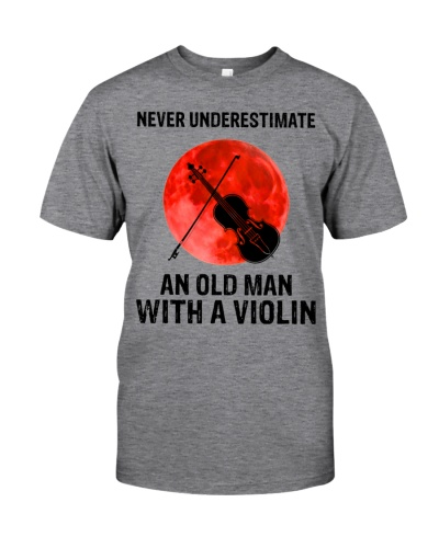 Never Underestimate An Old Man With A Violin