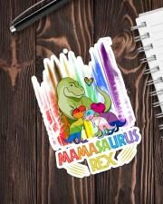 LGBT - Mamasaurus Sticker - Single (Vertical) aos-sticker-single-vertical-lifestyle-front-05
