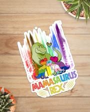 LGBT - Mamasaurus Sticker - Single (Vertical) aos-sticker-single-vertical-lifestyle-front-07