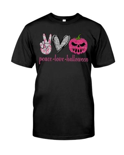 BC Peace Love Halloween