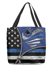 Back The Blue All-over Tote front