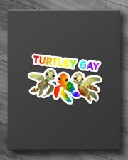 LGBT Turtley Gay  Sticker - Single (Horizontal) aos-sticker-single-horizontal-lifestyle-front-10