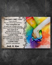 Custom LGBT The Day I Met You  17x11 Poster aos-poster-landscape-17x11-lifestyle-12