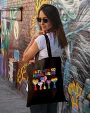 LGBT - Hate - No Home  Tote Bag lifestyle-totebag-front-1
