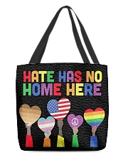 LGBT - Hate - No Home  All-over Tote thumbnail