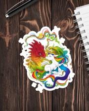 LGBT Dragon Unicorn Sticker - Single (Vertical) aos-sticker-single-vertical-lifestyle-front-05