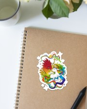 LGBT Dragon Unicorn Sticker - Single (Vertical) aos-sticker-single-vertical-lifestyle-front-16