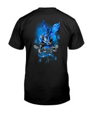 Diabetes Dragon Rose 2 Sides Classic T-Shirt back