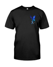 Diabetes Dragon Rose 2 Sides Classic T-Shirt front